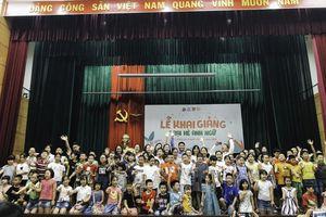Học viện Ngoại giao tổ chức Trại hè Anh ngữ cho trẻ em Hà Nội