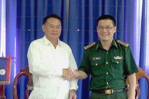 Phối hợp chuẩn bị chương trình Giao lưu hữu nghị biên giới Việt Nam – Lào năm 2019