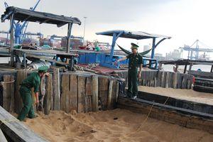 BĐBP TP Hồ Chí Minh: Thu giữ gần 5.000m khối cát trong 6 tháng đầu năm