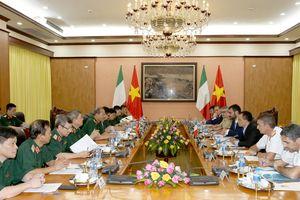 Đối thoại Chính sách quốc phòng Việt Nam - Italy lần thứ 3