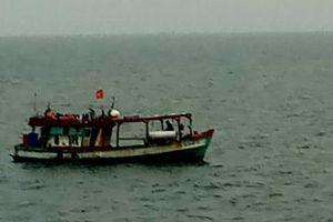 Cà Mau: Hỗ trợ tìm kiếm 5 công dân Thái Lan mất tích trên biển