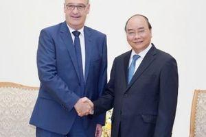 Thủ tướng tiếp Bộ trưởng Kinh tế, Giáo dục và Nghiên cứu Liên bang Thụy Sĩ