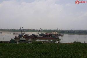 Kè quốc gia sông Lô ở Phú Thọ bị sạt, 3 'ông lớn' vẫn khai thác cát sát bờ?