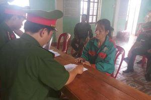 Khởi tố người phụ nữ đốt cỏ ruộng gây cháy rừng ở Hương Sơn - Hà Tĩnh