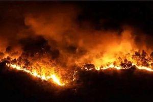 Nhiều tiếng nổ trong đám cháy rừng nghi là đầu đạn M79