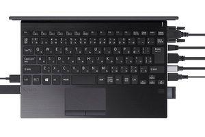 VAIO SX12 nhỏ gọn hơn cả MacBook Air nhưng cổng kết nối 'đầy đủ'