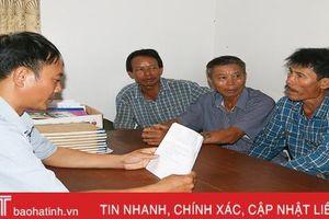 'Lắng nghe' người dân về sáp nhập xã ở Hà Tĩnh
