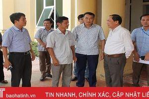 Trưởng ban Tuyên giáo Tỉnh ủy đánh giá cao việc huy động nguồn lực xây dựng NTM ở Can Lộc