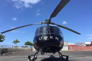 Uber chính thức ra mắt dịch vụ đi lại bằng trực thăng