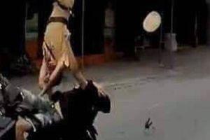 Thượng úy CSGT Hải Phòng bị lao xe vào người: Có dấu hiệu tội giết người?