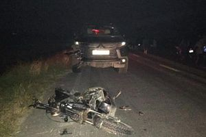 Tai nạn kinh hoàng: Ô tô 7 chỗ tông nát xe máy điện, 3 cháu nhỏ tử vong tại chỗ