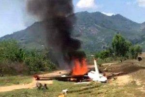 Điều tra nguyên nhân vụ rơi máy bay quân sự ở Khánh Hòa
