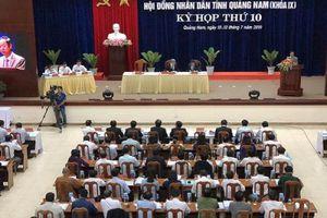 Nhiều vụ án nghiêm trọng làm 'nóng' nghị trường Quảng Nam