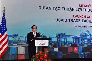 Hoa Kỳ hỗ trợ Việt Nam giảm thời gian thông quan hàng hóa