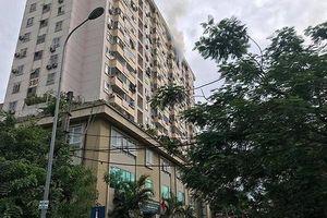Xảy cháy tại chung cư Nam Trung Yên