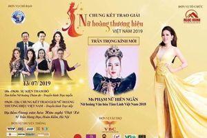 Không cấp phép cho chương trình 'Chung kết trao giải Nữ hoàng thương hiệu Việt Nam 2019'