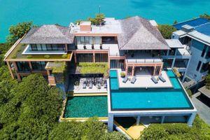 Biệt thự trên đồi hướng biển xa hoa bậc nhất đảo Phuket