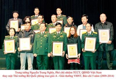 Thể lệ tuyển chọn tác phẩm dự xét giải thưởng báo chí về đề tài LLVT và CTCM 5 năm của Bộ Quốc phòng