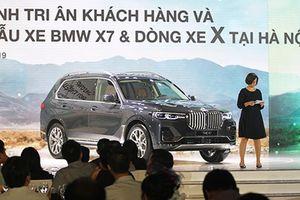BMW mang dàn xe SUV X-Series tiền tỷ đến Hà Nội