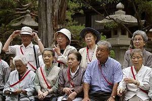 Dân số Nhật Bản giảm mạnh nhất kể từ năm 1968