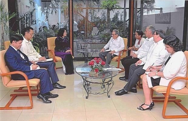 Việt Nam - Cuba: Đẩy mạnh hợp tác trong các lĩnh vực mới