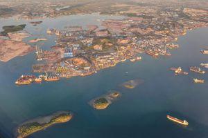 Indonesia xây cầu dài nhất nước ở eo biển Malacca