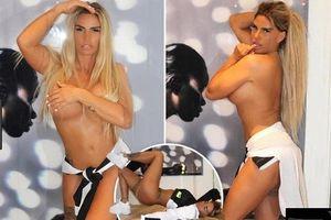 Katie Price bán nude khoe hình thể nóng bỏng ở tuổi 41