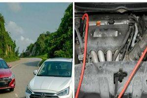 Đấu nối ắc quy- tài xế Việt chớ chủ quan vì có thể gây cháy xe ô tô