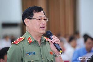 Tướng Nguyễn Hữu Cầu: Không để Nghệ An trở thành địa bàn trung chuyển ma túy của cả nước