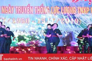 Lắng đọng cảm xúc hội diễn văn nghệ cựu TNXP Hà Tĩnh