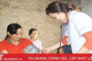 Bệnh nhân ở Hà Tĩnh được điều trị tăng huyết áp, đái tháo đường ngay tại trạm y tế