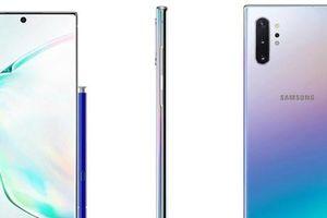 Rỏ ri hình ảnh Galaxy Note 10 phiên bản xanh ngọc trai