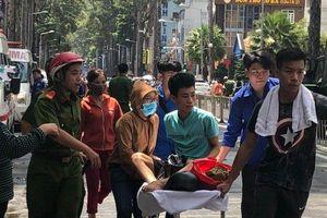 Cháy KTX ở TP.HCM: Bệnh nhân trở lại bệnh viện điều trị