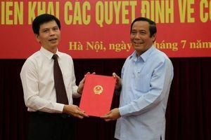 Triển khai quyết định bổ nhiệm ông Lê Anh Tuấn làm Thứ trưởng Bộ GTVT