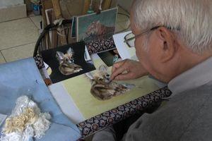 Lưu giữ 'hồn Việt' nhờ tranh thêu tay