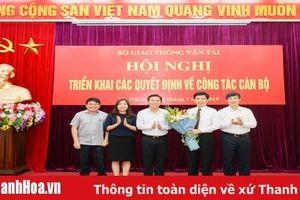 Triển khai quyết định bổ nhiệm đồng chí Lê Anh Tuấn làm Thứ trưởng Bộ Giao thông-Vận tải