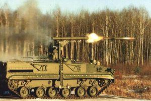 Sức mạnh hủy diệt của 'siêu tăng' Nga Khrizantema-S