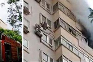 Hỏa hoạn tại chung cư Nam Trung Yên
