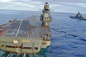 Kutnetsov nằm bờ, Nga tính chi hơn 3 tỷ USD đóng tàu sân bay mới