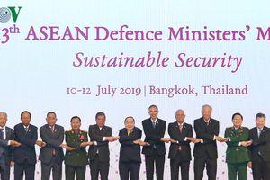 Bộ trưởng Quốc phòng ASEAN đồng thuận về an ninh bền vững