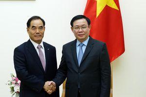 Phó Thủ tướng Vương Đình Huệ tiếp Chủ tịch Tập đoàn KRC