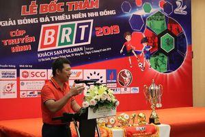 Tổ chức Giải bóng đá Thiếu niên Nhi đồng Cup Truyền hình BRT