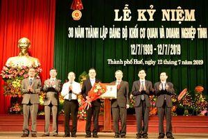 Xây dựng Đảng bộ Khối Cơ quan và Doanh nghiệp tỉnh Thừa Thiên Huế trong sạch, vững mạnh