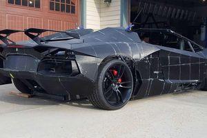 Tự sản xuất siêu xe Lamborghini Aventador bằng máy in 3D