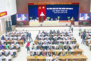 Quảng Nam: Đến cuối năm 2021 hoàn thành việc đưa Công an chính quy về xã