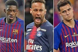 Barcelona 'cạn túi' đòi đổi 3 ngôi sao lấy Neymar