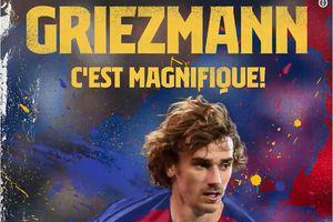 Griezmann chính thức ký Barca, Atletico kiện đòi thêm 80 triệu Euro