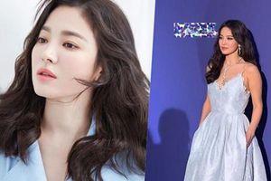Song Hye Kyo diện váy xẻ sâu, đẹp gợi cảm hậu ly hôn