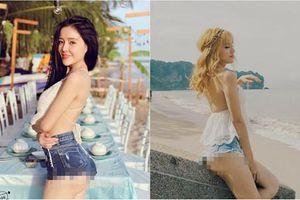 Nhức mắt những chiếc quần 'không thể ngắn hơn' của các mỹ nữ Việt
