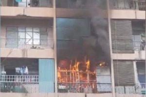 Cứu 28 người trong vụ cháy ký túc xá Trường cao đẳng Kỹ thuật Cao Thắng